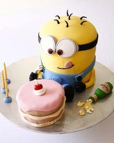Despicable Me cake - Prescott