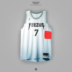 Designer Patso Dimitrov builds a fancy art bridge between music and basketball with his Rap Album Covers x NBA Jerseys project. Custom Basketball Uniforms, Basketball Jersey, Nike Basketball, Basketball Design, Basketball Leagues, Rap Albums, Hip Hop Albums, Rap Album Covers, Kanye West Yeezus