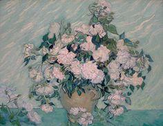 Vincent Van Gogh - White Roses (1890)