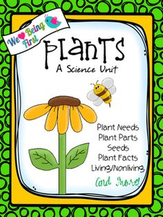 This cute and colorful ( UPDATED MARCH 2016) - 91 page plant unit will ...