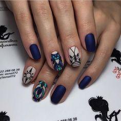 Image Source: Ugly Duckling Nails Inc. Perfect Nails, Gorgeous Nails, Pretty Nails, Cute Nail Art Designs, Short Nail Designs, Color For Nails, Love Nails, Gelish Nails, Nail Manicure