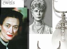 Queen Mary Pearls | Duchess of Windsor Pearls Pearlstring | Important Jewels of the Wallis Simpson  http://www.royal-magazin.de/england/duchess-windsor/duchess-windsor-pearl.htm #jewelhistory and her famous pearl necklace