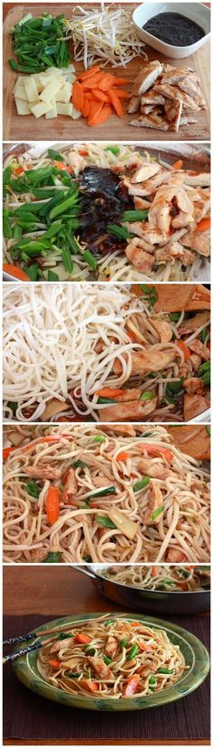 Easy and Quick Recipes: Chicken Teriyaki Noodles
