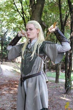 Cosplay Legolas Lord Of The Ring LOTR