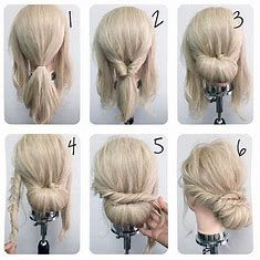 Image result for Cute Simple Updo Hairstyles