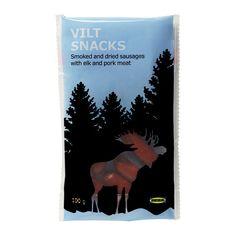 VILT SNACKS Gerookte, luchtgedroogde elandsnack - IKEA