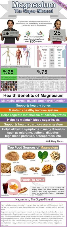 Magnesium The Super Mineral- Since only 1% of magnesium is stored in the blood, blood test do not usually pick up on a deficiency. If you are having the symptoms of magnesium deficiency add magnesium rich foods to your diet and request a 'spectra cell test for low magnesium'.