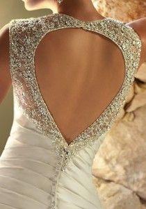 wedding photo -  Taffeta heart Open Back Wedding Dress by Ella Bridal ♥ Valentine\'s Day Wedding Dress Idea