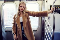 Following up a 1970s inspired spread earlier this month, model Hailey Clauson and photographer Jason Kim reunite for the September 2015 issue of Grazia France. The Sports Illustrated Swimsuit model takes on 1990s fashion while posing in the studio and the New York subway. Styled by Alexandra Benard and Laure Orset, Hailey wears looks from …