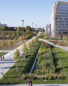 Paisaje y Arquitectura: Martin Luther King, un parque ecológico integral y conector de barrios