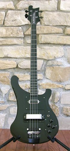 1989 Rickenbacker 4003 Blackstar Bass Guitar