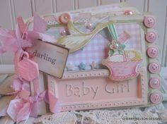 "Álbum de fotos de bebé Baby Girl Slip en caso de álbum de fotos para fotos 200 4/"" X 6/"" BACZ"