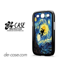 Harry Potter Starry Night Van Gogh For Samsung Galaxy S3 Case Phone Case Gift Present YO