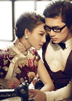 cheongsam bride