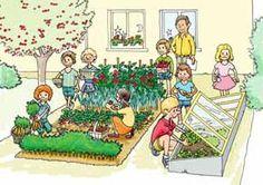 Les légumes - jardiner à l'école