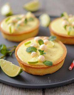 Tartelette au citron mojito #junkfood