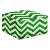 Found it at DwellStudio - ZIG ZAG KELLY GREEN POUF
