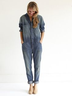 6397 Denim Jumpsuit