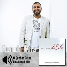 """Escute a música """"O Senhor Reina"""" do CD A Glória É dEle de Som da Cura - Rafael Bomfim: http://itbmusic.com.br/site/wp-content/uploads/2013/06/04-O-Senhor-Reina1.m4a?utm_campaign=musicas-itb&utm_medium=post-06dez&utm_source=pinterest&utm_content=rafael-o-senhor-reina-player-trecho"""