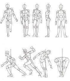 movimientos corporales dibujos - Buscar con Google