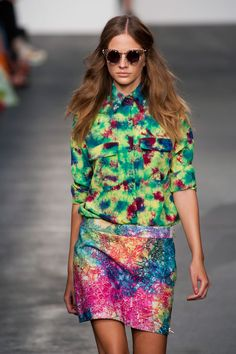 House of Holland S/S13 more tie dye love x