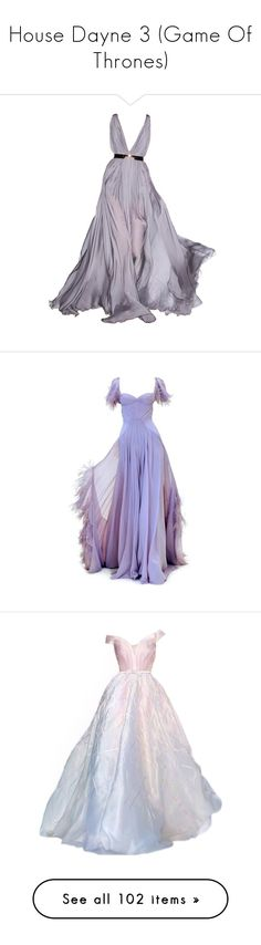 """House Dayne 3 (Game Of Thrones)"" by doratemplam ❤ liked on Polyvore featuring dresses, gowns, long dresses, vestidos, purple, purple ball gowns, purple gown, long purple dress, purple evening dress and satinee"
