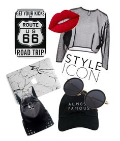 """Untitled #4"" by tilda-hedblom on Polyvore featuring Yves Saint Laurent, Lime Crime, Nasaseasons and Chicnova Fashion"