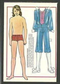ABBA BJÖRN Ulvaeus Vintage Scarce Paper Doll   eBay