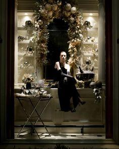 Ralph Lauren store window decor