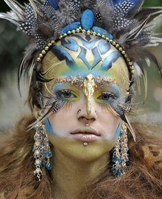 avant garde makeup looks   Avant Garde Airbrushing