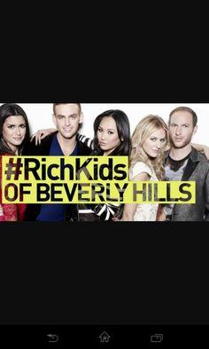 Really good program:-) it! Rich Kids, Beverly Hills, Watch, Tv, Movie Posters, Movies, Clock, Films, Bracelet Watch