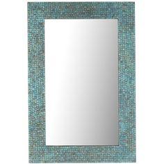 Azure Mosaic 24x36 Mirror | Pier 1 Imports
