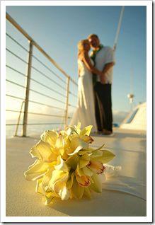 Los Angeles Boat Wedding