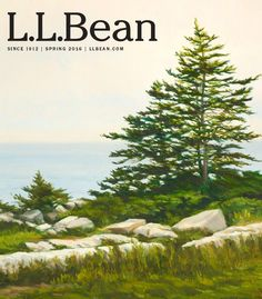 Our spring catalog cover features a painting by local artist John Bowdren, whose rich coastal scenes define the color and character of springtime in Maine. Learn more about John Bowdren: http://johnbowdren.com