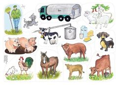 Märchen - New Ideas School Pictures, Paper Dolls, Montessori, Literacy, Homeschool, Clip Art, Teaching, Education, Comics
