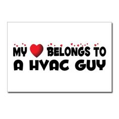 Postcard: My Heart Belongs to an HVAC Guy