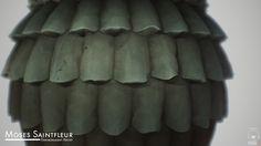 ArtStation - Roof Shingles, Moses Saintfleur
