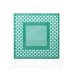 Ceramic Tile, Emerald Green Geometric Pattern | Zazzle.co.uk