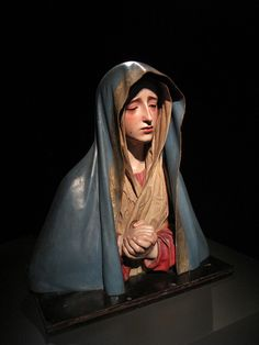 Sorrowful virgin / La Dolorosa, via Flickr.