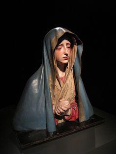 Sorrowful virgin / La Dolorosa, via Flickr.