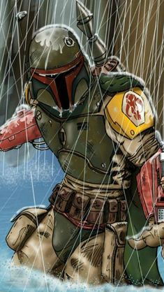 Post with 6781 votes and 270144 views. Shared by Unpossible. Boba Fett Mandalorian, Star Wars Boba Fett, Jango Fett, Boba Fett Art, Star Wars Pictures, Star Wars Images, Chasseur De Primes, Star Wars Quotes, Star Wars Wallpaper