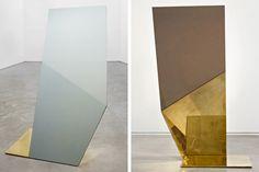 David Adjaye's mirrors at Salon 94