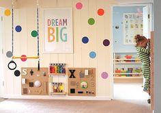DIY Indoor Sensory Gym For Toddlers