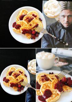 in der Küchenmaschine mahlen)   Alle Zutaten verquirlen und 10 Minuten stehen lassen. Bei mittlerer Temperatur zu kleinen Pancakes ausbac...