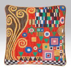 Klimt Scarlet - Ehrman Tapestry