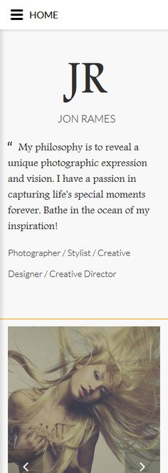 Design Needs Time... Art & Photography website inspirations at your coffee break? Browse for more Responsive JavaScript Animated #templates! // Regular price: $69 // Sources available: .HTML, .PSD #Art #Photography #Responsive #JavaScript #Animated #portfolio #photographer #photos #photography #camera #art #models #cameras #company #gallery #picture #pictures #digital #Jr #Jon #Rames