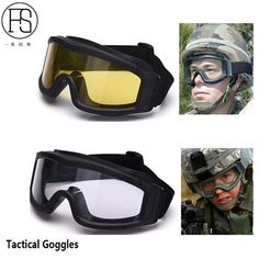 cb9d47b63f7 Safety Men Glasses Military Airsoft Goggles Army Tactical Glasses Paintball  Shooting Outdoor War Game Eye Protection