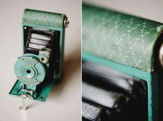 20. Something you: Vintage camera  #modcloth #wedding