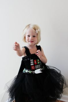 26 Princess-Free Halloween Costumes For Girls Darth Vader Who says she can't be the villain? Darth Vader ($99) is a solid choice, we think.