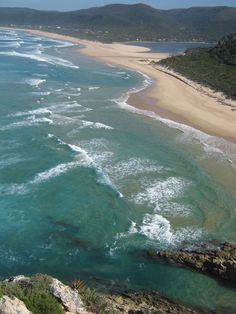 Nature's Valley beach, Garden Route, South Africa.